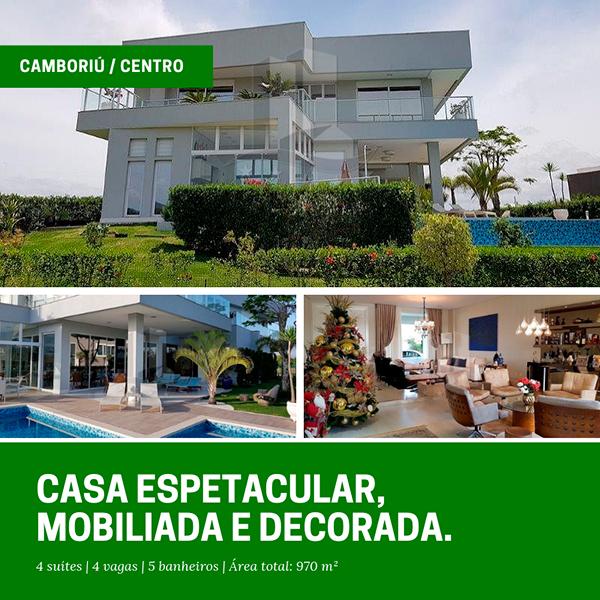 Casa no Condomínio Reserva Camboriú Yacht e Golf