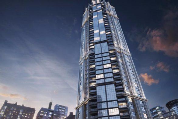 New York Apartments da Embraed esta com mais de 50% da obra concluída.