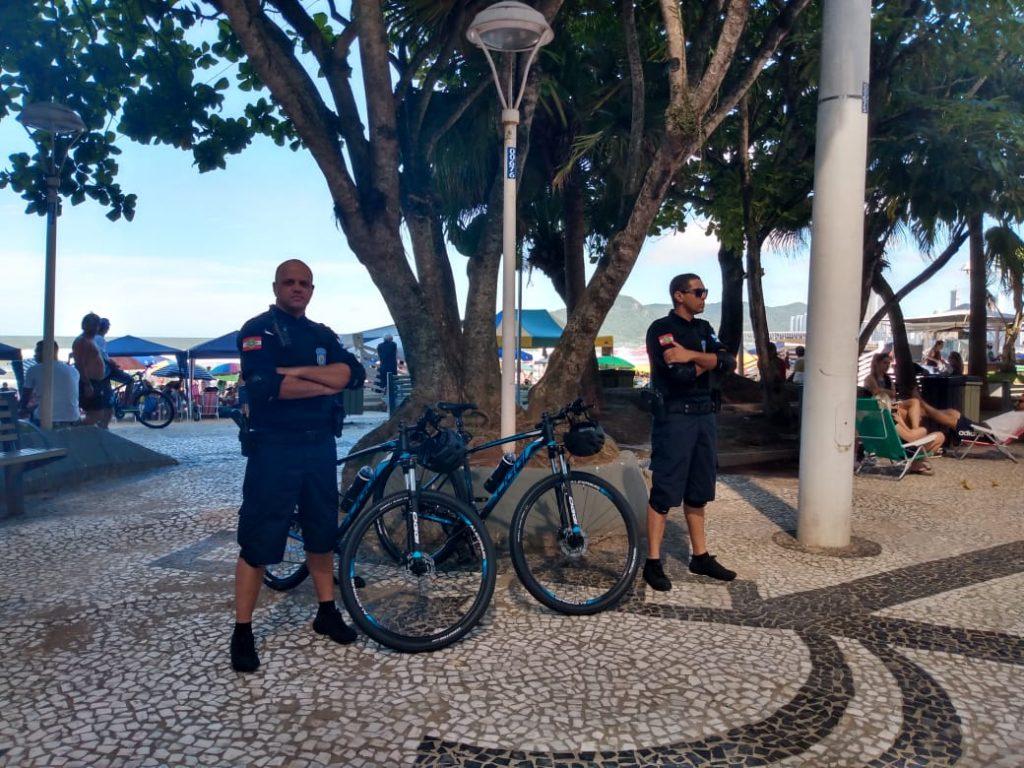 Guarda Municipal inicia Bike Patrulhamento em Balneário Camboriú
