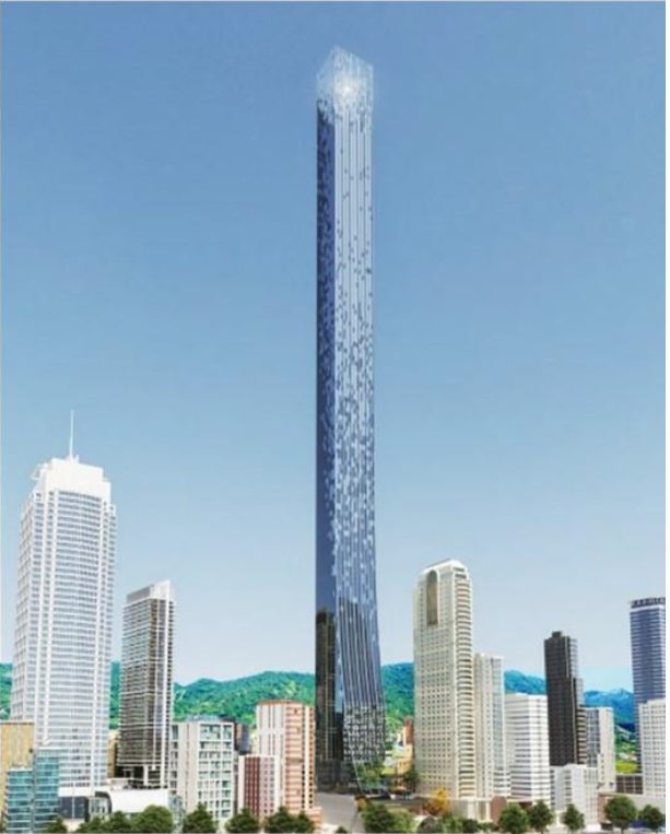 Triumph Tower fachada